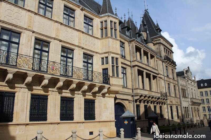 Palácio do Grão Ducado - Luxemburgo