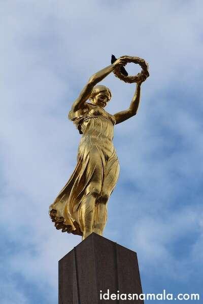 Deusa da vitória - Luxemburgo