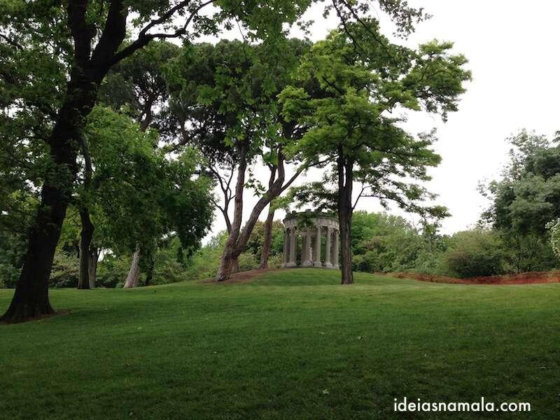 Fonte no parque do Capricho - Madri