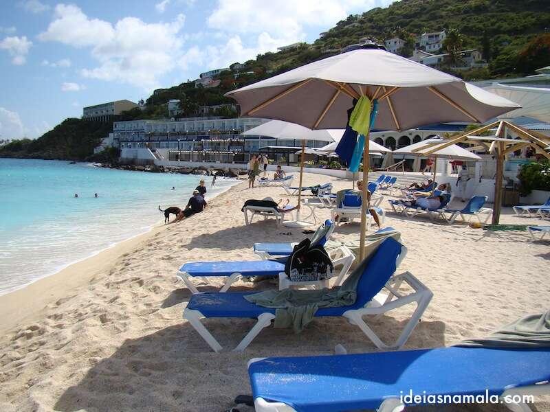A praia do Sonesta Great Bay