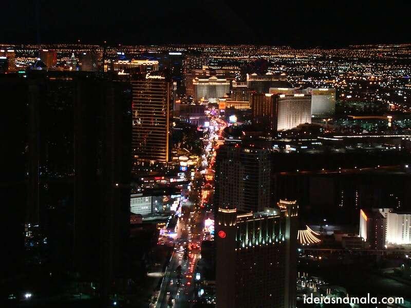 Vista do alto do Stratosphere - Las Vegas