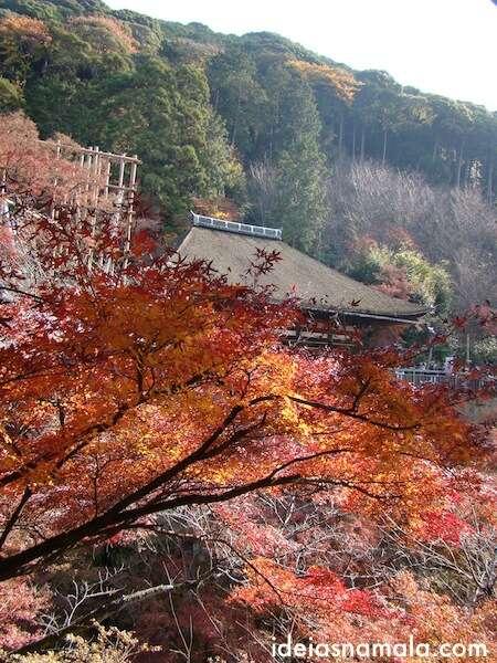 outono no Templo Kyomizu Dera, Kioto