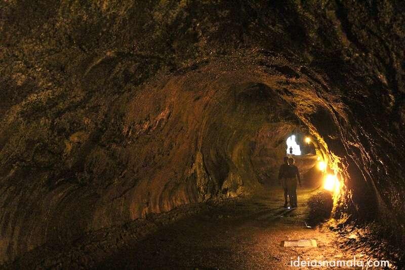 cavernas de lava - Havaí