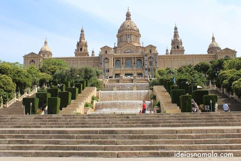 Museu de Arte da Catalunha em Montjuïc