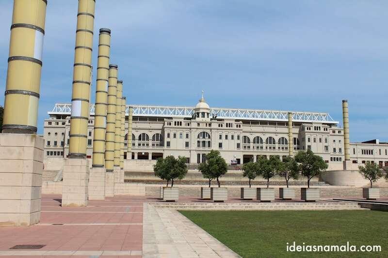 complexo olímpico de Barcelona