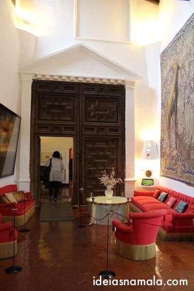 Sala de visitas de Gale e Dalí