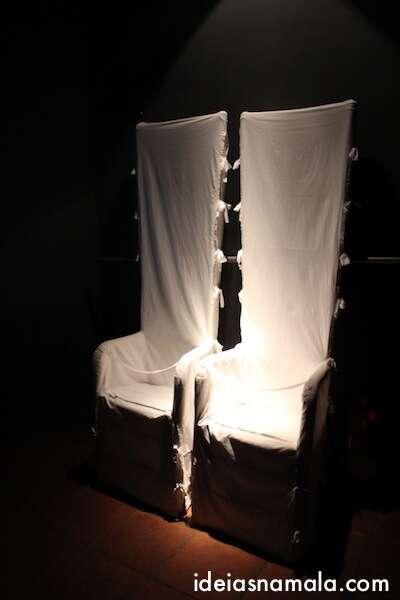 cadeiras de Gala e Dalí