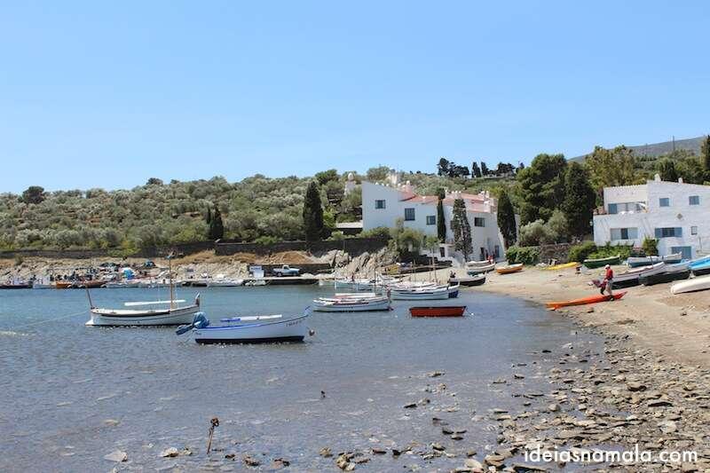 Casa de Dalí - de frente para o mar - Port lligat