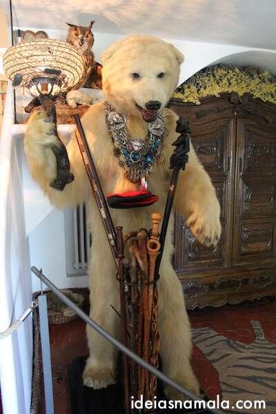 Urso na casa de Dalí - Port Lligat