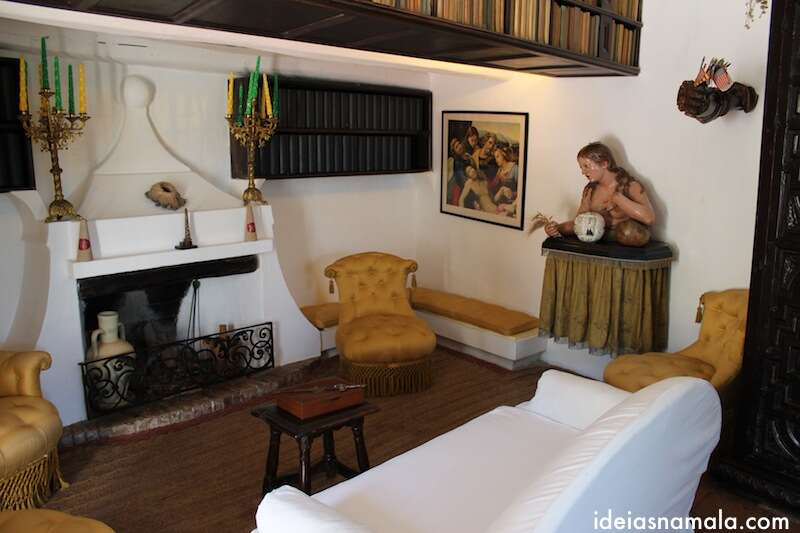 Sala casa de Dalí - Port Lligat