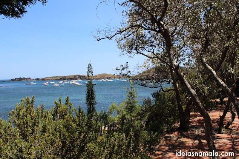 casa de Dalí - Port Lligat: de frente para o mar