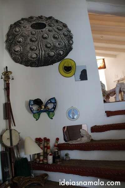 Objetos no Atelier de Dalí