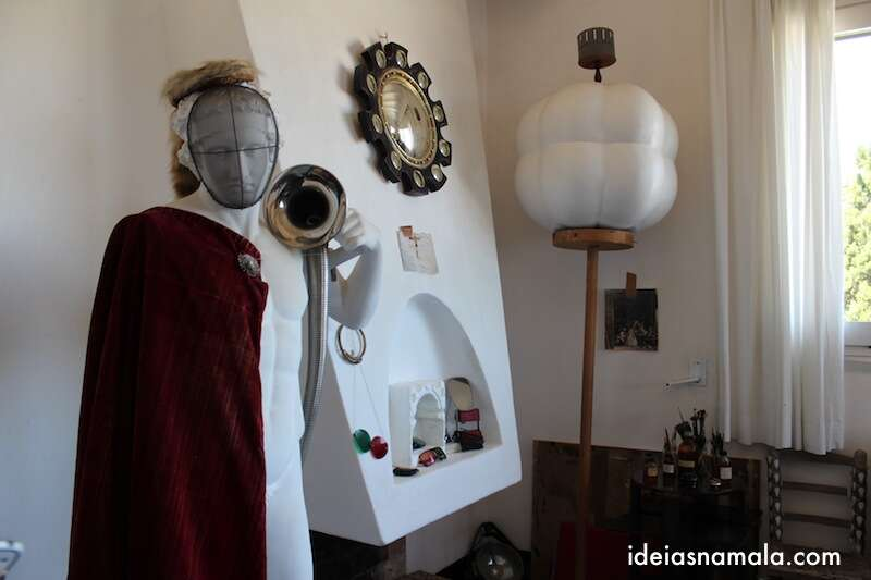 Objetos no Atelier de Port Lligat