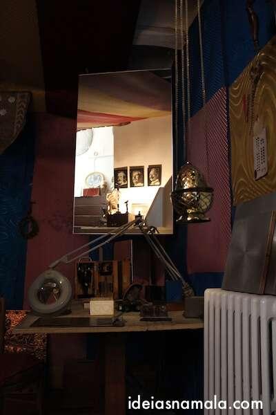Objetos que serviam de modelo ou fonte de inspiração para Dalí