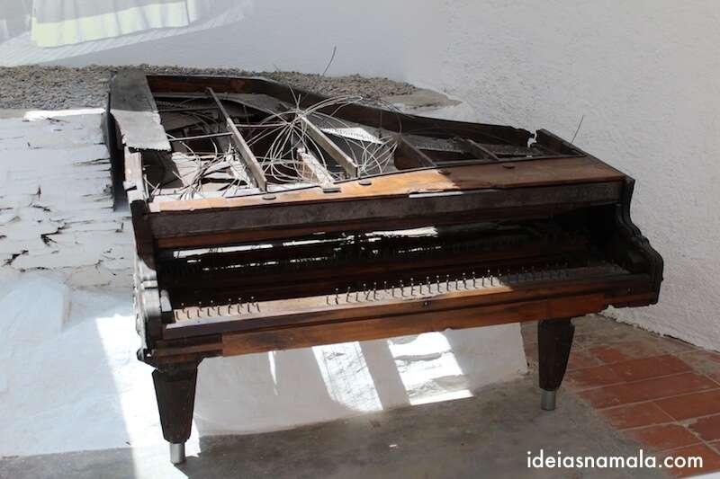 Sala do Piano - Casa de Dalí em Cadaques