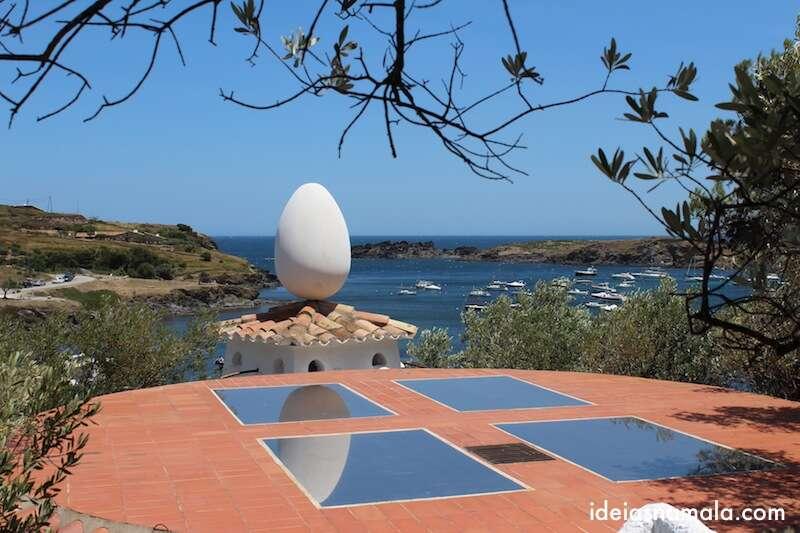 Ovo na Casa de Salvador Dalí - Port Lligat - Catalunha