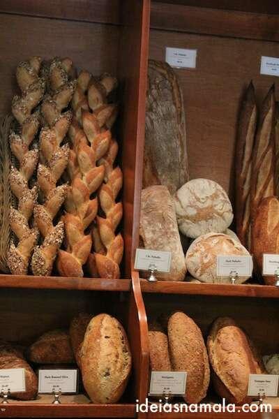 pães na Bakery Bouchon