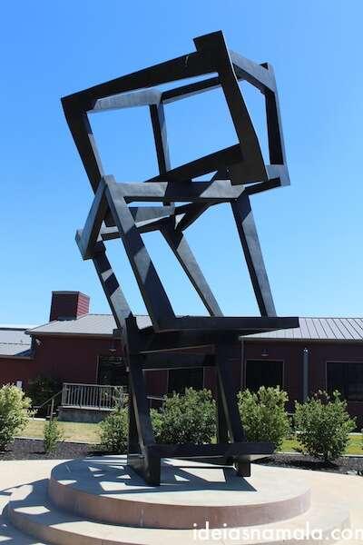 Esculturas em Yountville