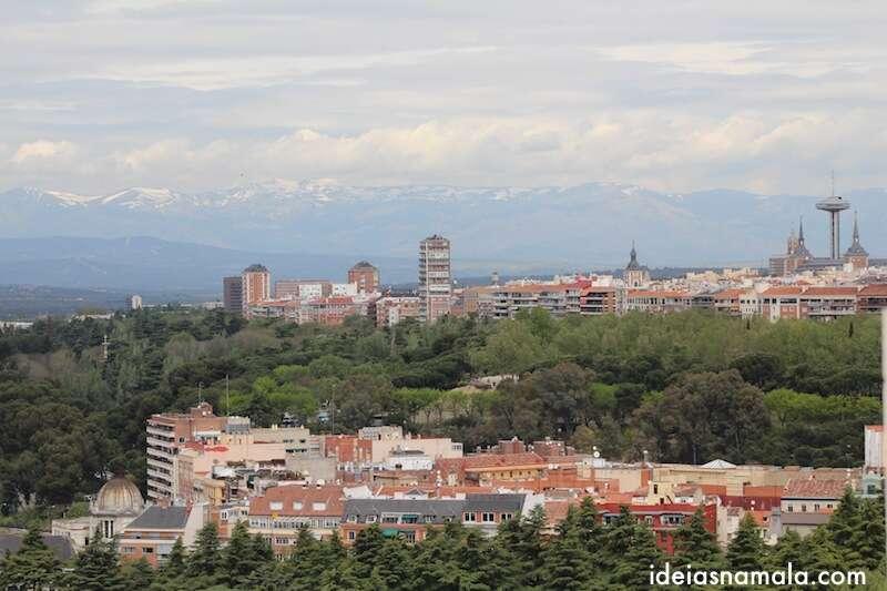 Madri vista da Catedral da Almudena