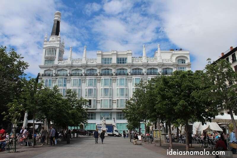 Plaza de Santa Ana - Madri