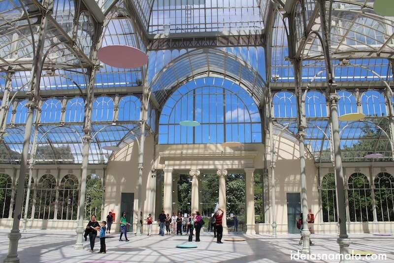 Palacio de Cristal - parque do Retiro