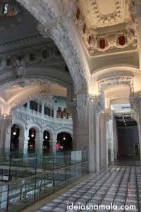 Interior do palácio de Cibeles