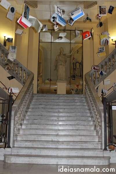 Interior do Círculo de Bellas Artes