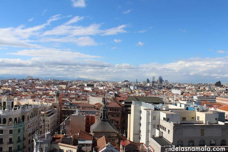 vista do alto do edifício de Bellas Artes