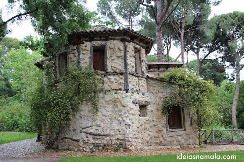 Casinha no Parque El Capricho - Madri