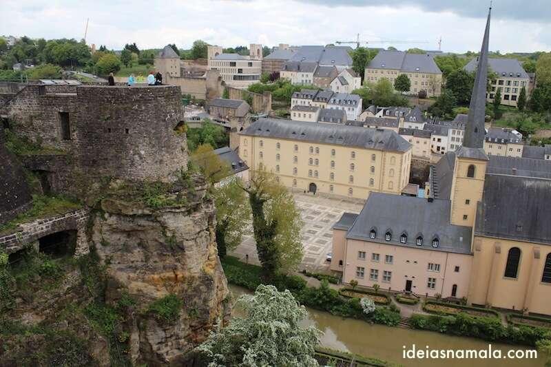Esplanada das Casamatas - Luxemburgo