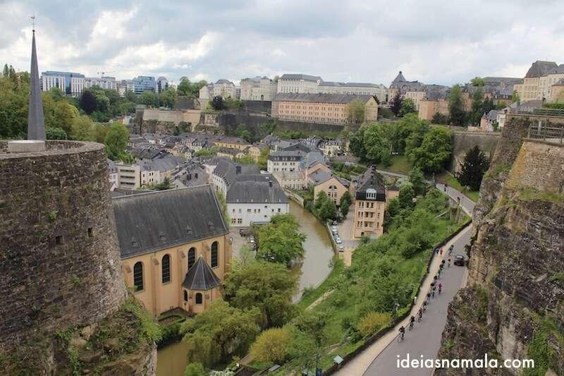 Grund visto da esplanda - Luxemburgo