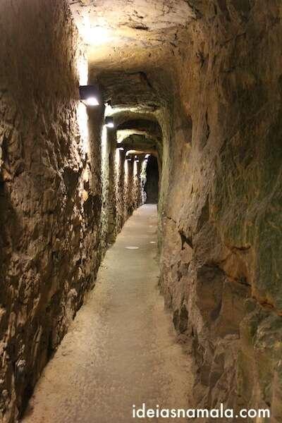 Túnel nas Casamatas de Bock