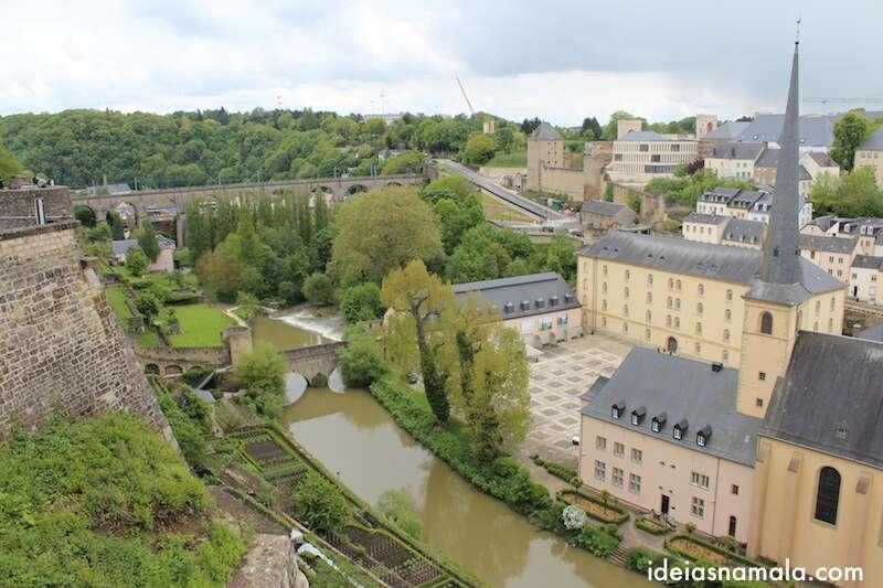 Luxemburgo - vista da Corniche