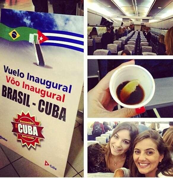 Vôo Brasil - Cuba