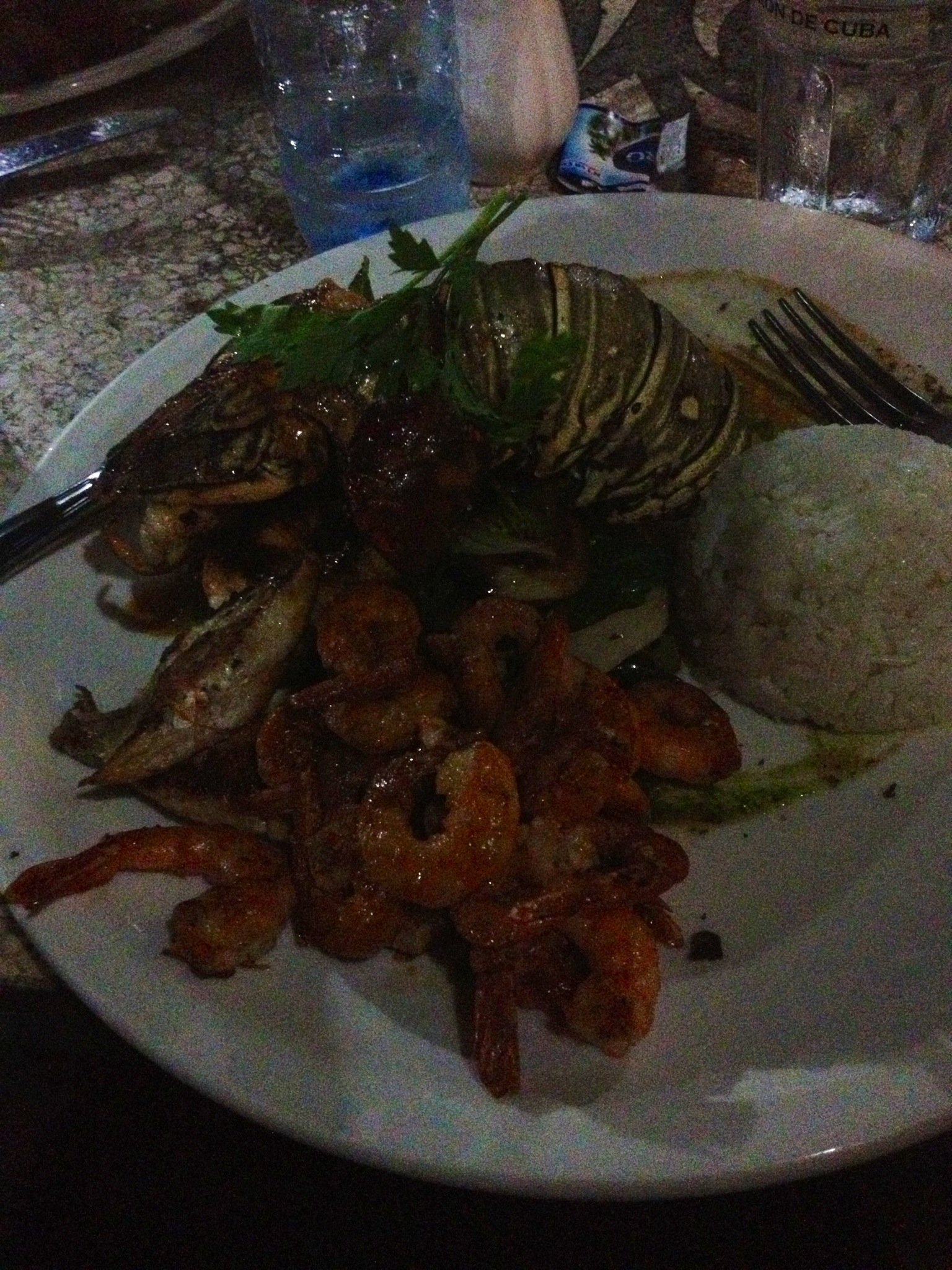 Comida em Havana - Cuba