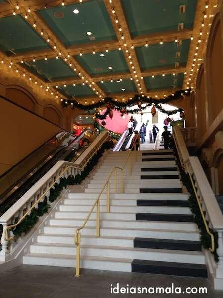 Escada piano em Los Angeles