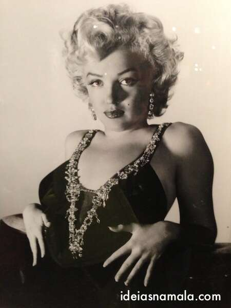 Marliyn Monroe no museu de Hollywood