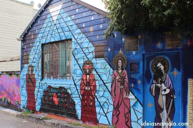 Grafite no Clarion Alley - Mission