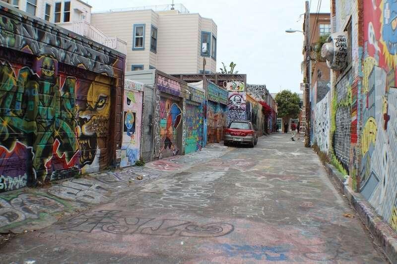 Grafite em Clarion Alley