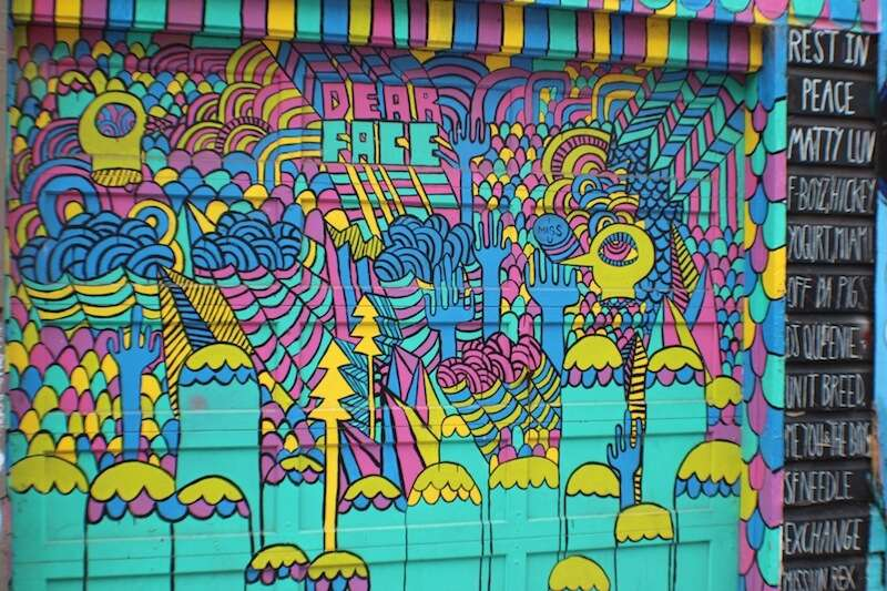 Mural no Clarion Alley - Mission