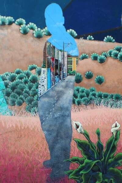 Mural em Clarion Alley