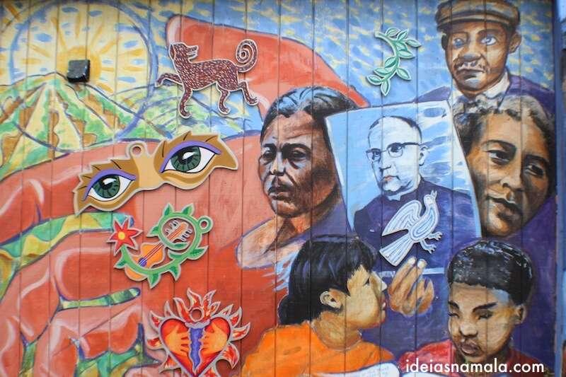 Murais em Balmy Alley - São Francisco