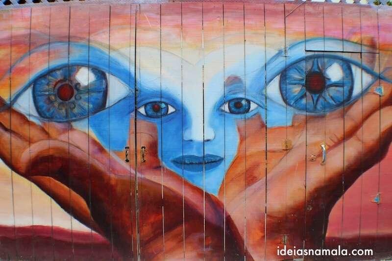 Mural em Balmy Alley, Mission - São Francisco
