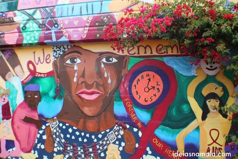 Mural em Balmy Alley - Mission
