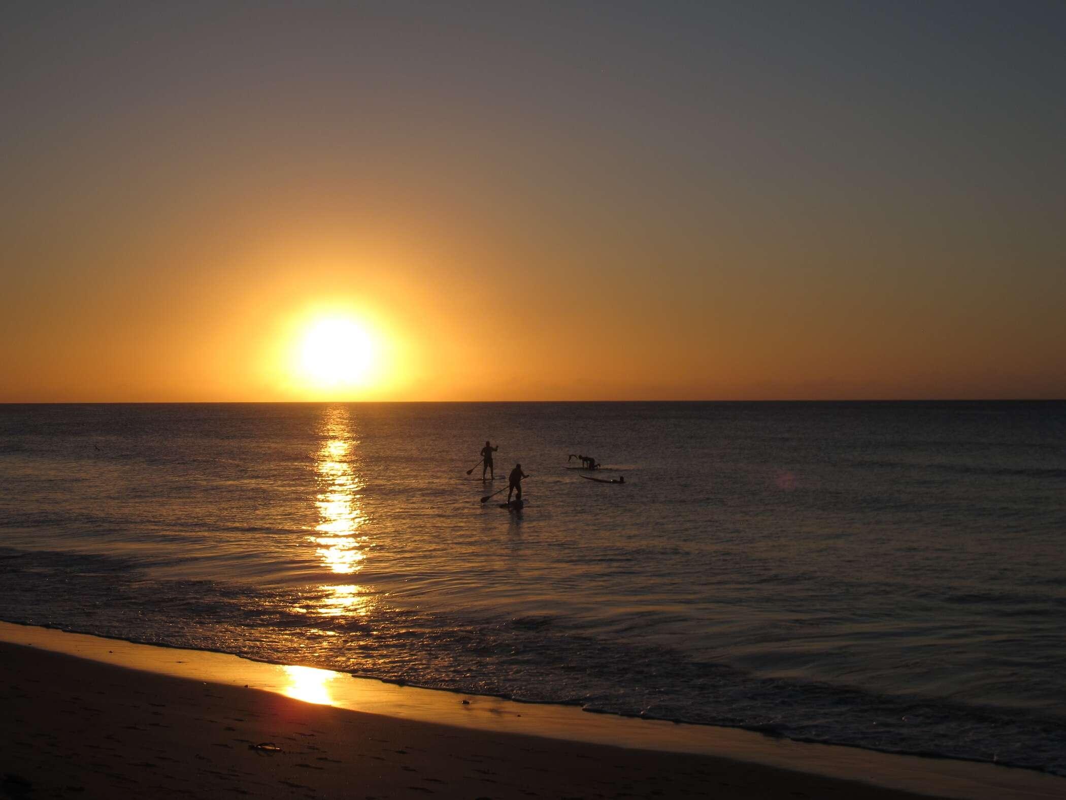 Pôr do Sol da praia da conceição - Noronha