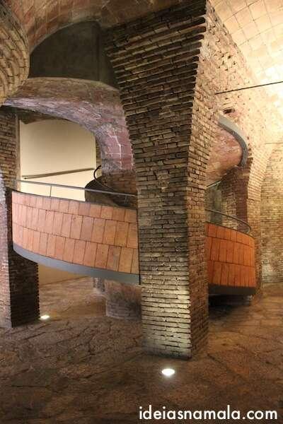 Escada em caracol do Palau Güell