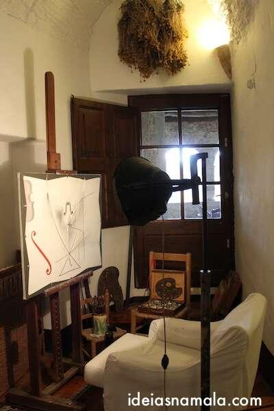 Atelier de Dalí em Puból