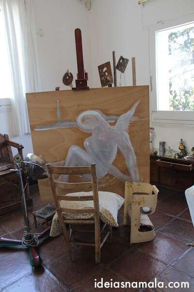 Atelier de Dalí - obras que ele nunca terminou