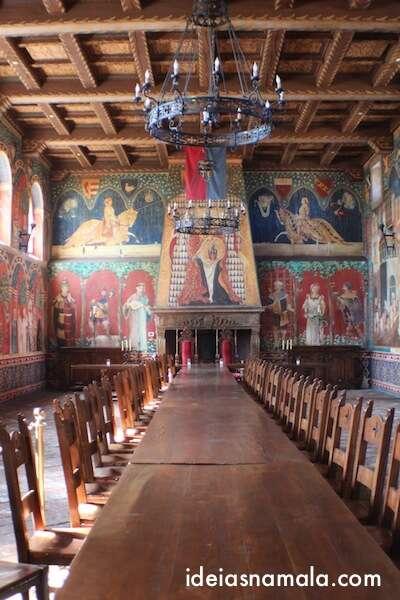 Salão de Jantar -  Castelo di Amorosa