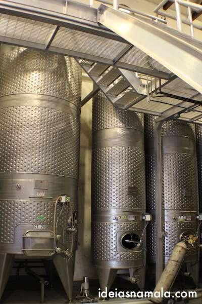 Produção de vinhos - Castelo di Amorosa